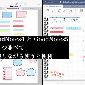 15.GoodNotes4で使える ステッカー ふせんやライン素材 TODOリストなど