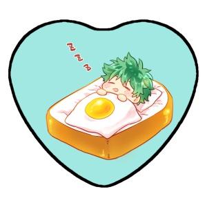 【ヒロアカ】すやすや缶バッジ(緑谷)