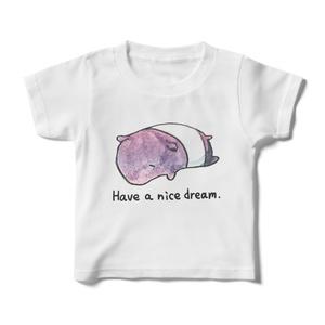 良い夢を見てくださいキッズTシャツ