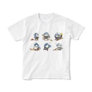もよよだらけTシャツ(短納期)
