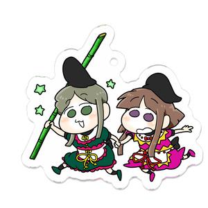 里乃と舞アクリルキーホルダー