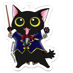 猫音シリーズ~指揮にゃん~アクリルキーホルダー