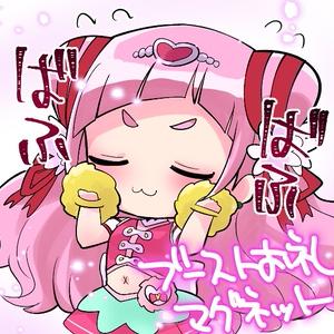 【Android】はなちゃんグッズ三種セット(バッグ・スマホケース・缶バッジ)