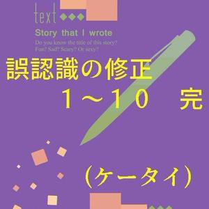 誤認識の修正 01-10 完 (ケータイ)