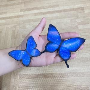 蝶のポニーフック