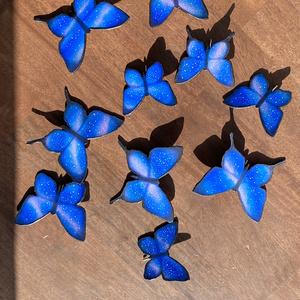 蝶のポニーフック 小