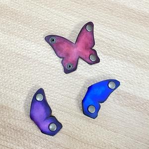 蝶のコードストッパー