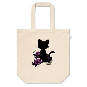 猫と薔薇 *紫*