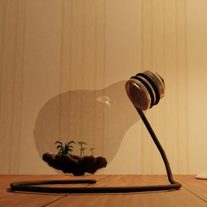 [3Dモデル]電球テラリウム