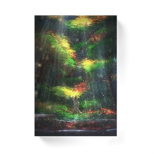 樹光滝アクリルブロック