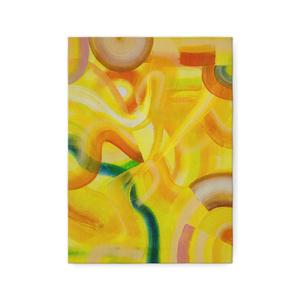 複製画(キャンバス)F4号【 黄色の力 】