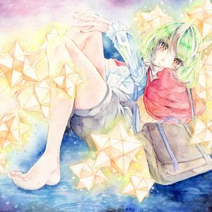 イラスト原画【がらくたお星さま】