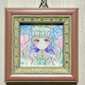 イラスト原画【緑柱石の少女】