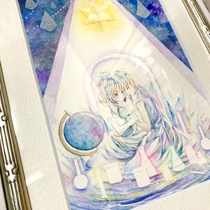 イラスト原画【深夜31時の夢】