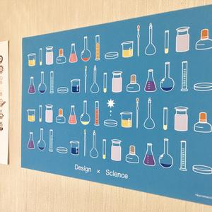 「TOKIMEKI RIKASHITSU」実験器具 A3ミニポスター