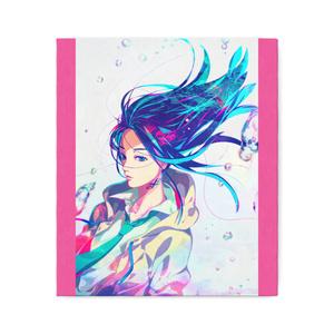 秋赤音ノベル表紙絵 キャンバス画(F10サイズ)