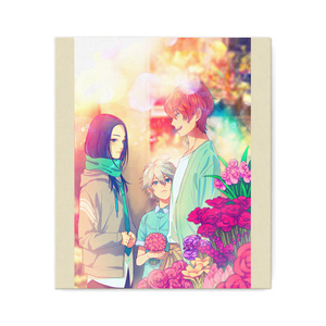 秋赤音ノベル挿絵 キャンバス画(14th/F10サイズ)