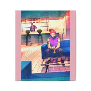 秋赤音ノベル挿絵 キャンバス画(11th/F10サイズ)