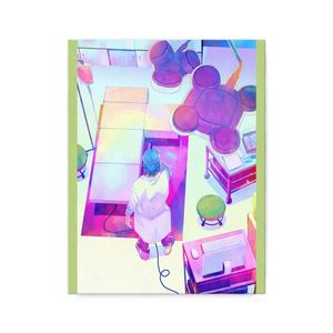秋赤音ノベル挿絵 キャンバス画(19th/F6サイズ)