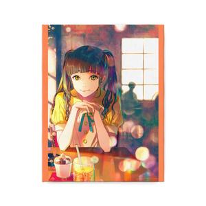 秋赤音ノベル挿絵 キャンバス画(10th/F6サイズ)