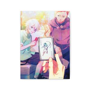 秋赤音ノベル挿絵 キャンバス画(15th/F4サイズ)