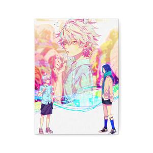 秋赤音ノベル挿絵 キャンバス画(2nd/F4サイズ)