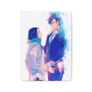 秋赤音ノベル挿絵キャンバス画(22nd/F4サイズ)