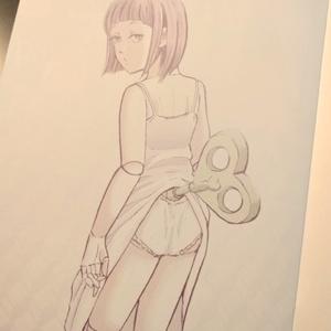 少女画集「マユツバ少女」