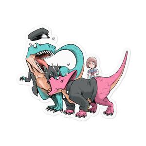 ティラノサウルス×トリケラトプス 修羅場