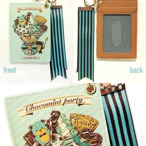 チョコミントなパフェパスケース
