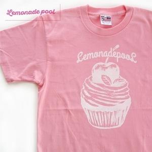 メンズSサイズ1点のみ☆カップケーキTシャツ(ピンク)