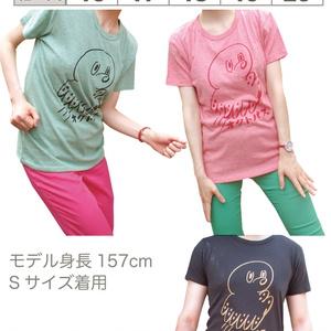 オクトパスTシャツ・グリーン(メンズ、レディース)