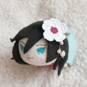 マグネット髪飾り 桜