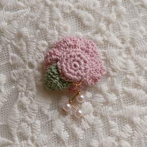 マグネット髪飾り 桃色桜
