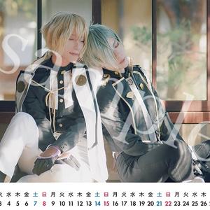 刀剣乱舞 源氏兄弟カレンダー2019