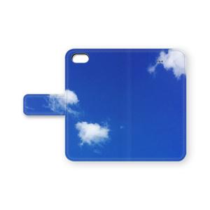 青空の手帳型iPhoneケース