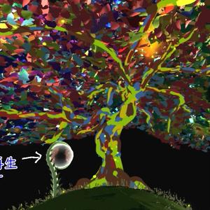 【VRart】Grow colors【バーチャル背景付き】空間URL販売