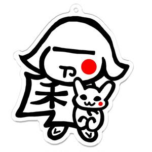 令和ちゃん日の丸(アバターシリーズ)アクキー