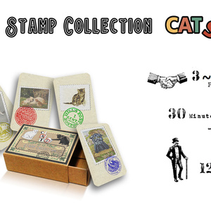 Stamp collection CATS