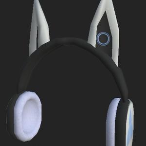 狐耳(っぽい)ヘッドホン