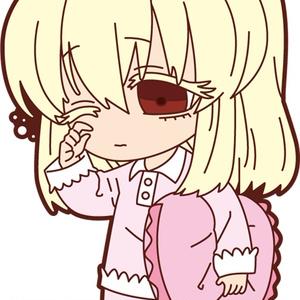 死にたがり少女と食人鬼さん ラバーストラップセット①(白&あきら)【AGF2016】