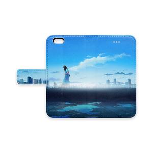 「雨上がりの天使」手帳型iPhoneケース