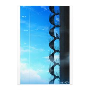 「鳥の休憩所」ポスター