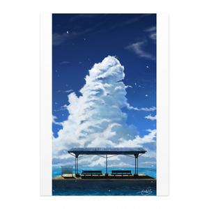 「SUMMER STATION」ポスター