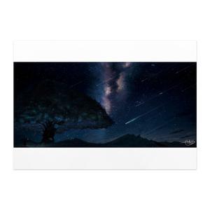 「星架かる夜空」ポスター