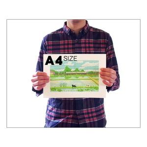 イラストプリント(全36種-A4サイズ)