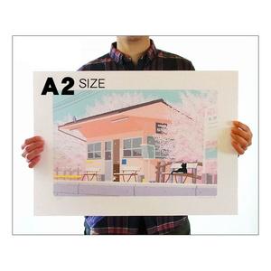 イラストプリント(全36種-A2サイズ)
