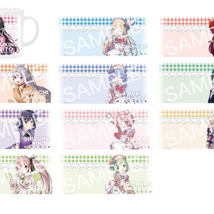 バレンタイン マグカップ 手書きメッセージカード付(全10種)