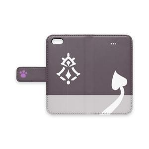 でびでび・でびる あくまの手帳型iPhoneケース