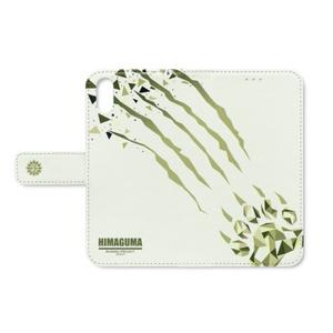 本間ひまわり 手帳型iPhoneケース